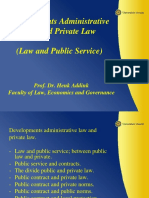 1 Develpments Administrative Law and Private Law Prof Dr G.H Addink