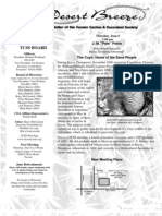 June 2002 Desert Breeze Newsletter, Tucson Cactus & Succulent Society