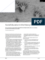 social education in the history classroom