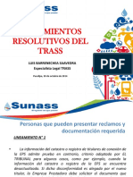 PPT -TRASS- Lineamientos