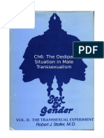 Stoller Ch6 - The Transsexual Experiment - Chapter 6 The Oedipal Situation in Male Transsexualism