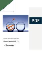 KF 7005  Module Handbook 2017 18 2nd draft.docx