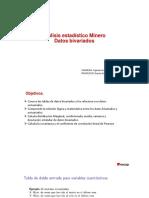 Analisis Estadistico Minero VII