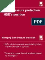 Overpressure Protection