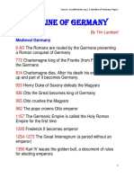 A Timeline of Germany