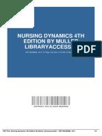 nursing dynamics 4th edition by muller libraryaccess61