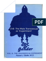 Stoller Ch8 - The Transsexual Experiment - Chapter 8 The Male Transsexual as Experiment