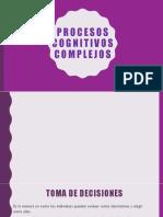Procesos Cognitivos Complejos