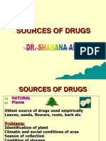 01. Sources of Drugs
