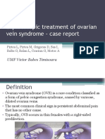 ovarian vein syndrome