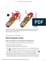 How to Measure Current With a Clamp Meter _ Fluke