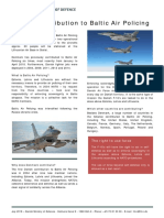 Danish Contribution to Baltic Air Policing 2019