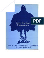 Stoller Ch11 - The Transsexual Experiment -  Chapter 11 The Term 'Transvestism'