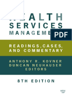 [Anthony R. Kovner, Duncan Neuhauser] Health Servi(BookFi)