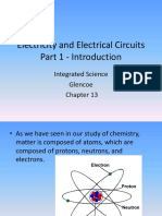 Electricity and Electrical Circuits - Powerpoint