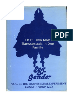 Stoller Ch15 -The Transsexual Experiment - Chapter 15 Two Male Transsexuals in One Family