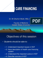 HEALTH CARE FINANCING.ppt