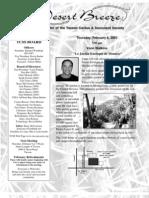 February 2003 Desert Breeze Newsletter, Tucson Cactus & Succulent Society