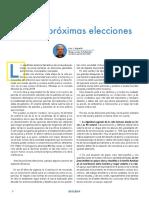 Recomendaciones Luis Arguello para votar ante unas elecciones para los cristianos católicos