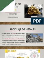 Reciclaje de Metales.oro