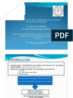 Protocolo Anestesia Cirugia Cataratas