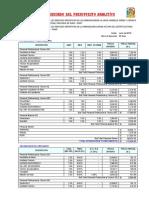 3. Desagregado Presupuesto Analitico