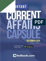 Important Current Affairs December 2018 Capsule New d337f9ca