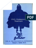 Stoller Ch21 - The Transsexual Experiment - Chapter 21 Problems in Treatment