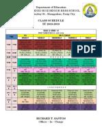 CLASS SCHEDULE DISPLAY.docx