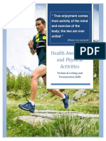 Health Awareness and Physical Activities Final Report