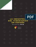 La industria del videojuego en España. Anuario 2018 (AEVI).pdf