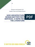 Prison Architecture and Design