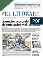 El Litoral Mañana 09/05/2019