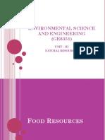 Environmental Science and Engineering (Ge6351)