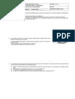 Examen Aplicacion Funcion Lineal Funcion Cuadratica