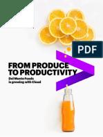Accenture Del Monte Foods Growing Cloud