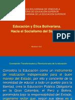 Ética de Bolívar