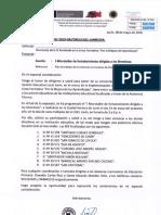 Oficio Nº 0032-2019 _ I Microtaller Dirigido a Directivos