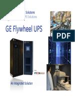 Flywheel UPS Presentation