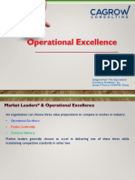 Operational Excellence Presentation