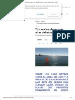 Titicaca Las Playas Más Altas Del Mundo - Virgen Candelaria Puno - 2019