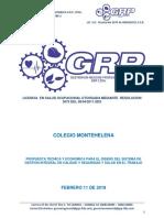 Cotizacion Desarrollo Del Sg Calidad y Sst Colegio Montehelena