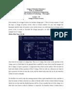 Design of Machine Elements I