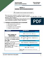 Guia No.2-Datos Macroeconomicos