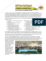 Year End 2006 Desert Breeze Newsletter, Tucson Cactus & Succulent Society