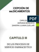 RECEPCIÓN DE MEDICAMENTOS.pptx