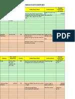 Customer Status Update Report 27th January 2015 Colour