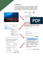 Configuracion de Red en Windows 10