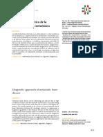 Abordaje Diagnostico de La Enfermedad Osea Metastasica