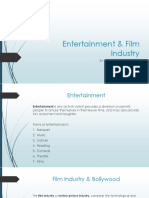 Entertainment & Film Industry